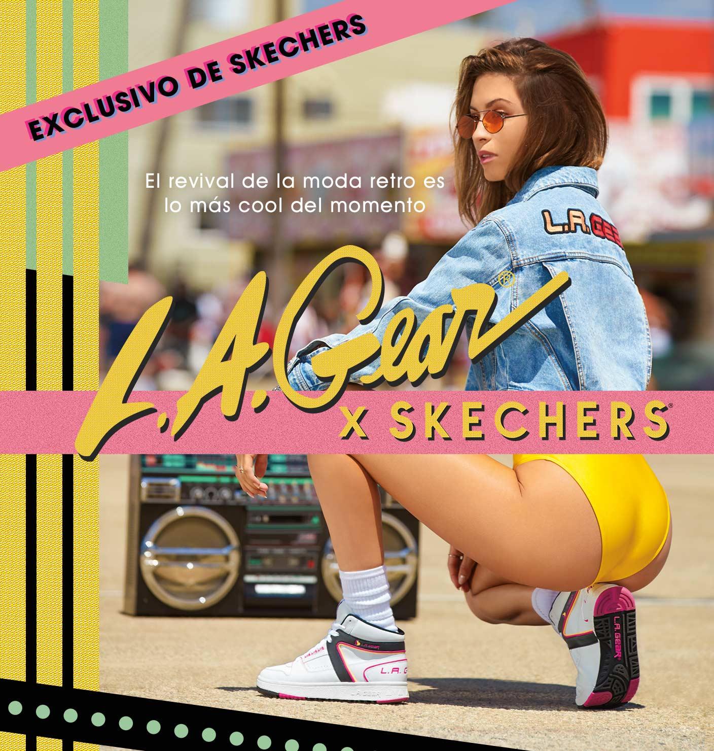 L.A GEAR x Skechers, las zapatillas retro vuelven más de moda que nunca